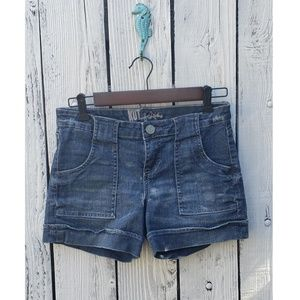 Kut From The Kloth  Distressed Jean Short Size 4